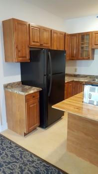 273 Main Street black fridge